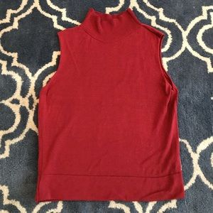 TopShop Turtleneck Tank Top
